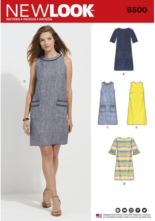 SewingPatterns | Clothes (Patrones Ropa) | Pinterest | Vestido ...