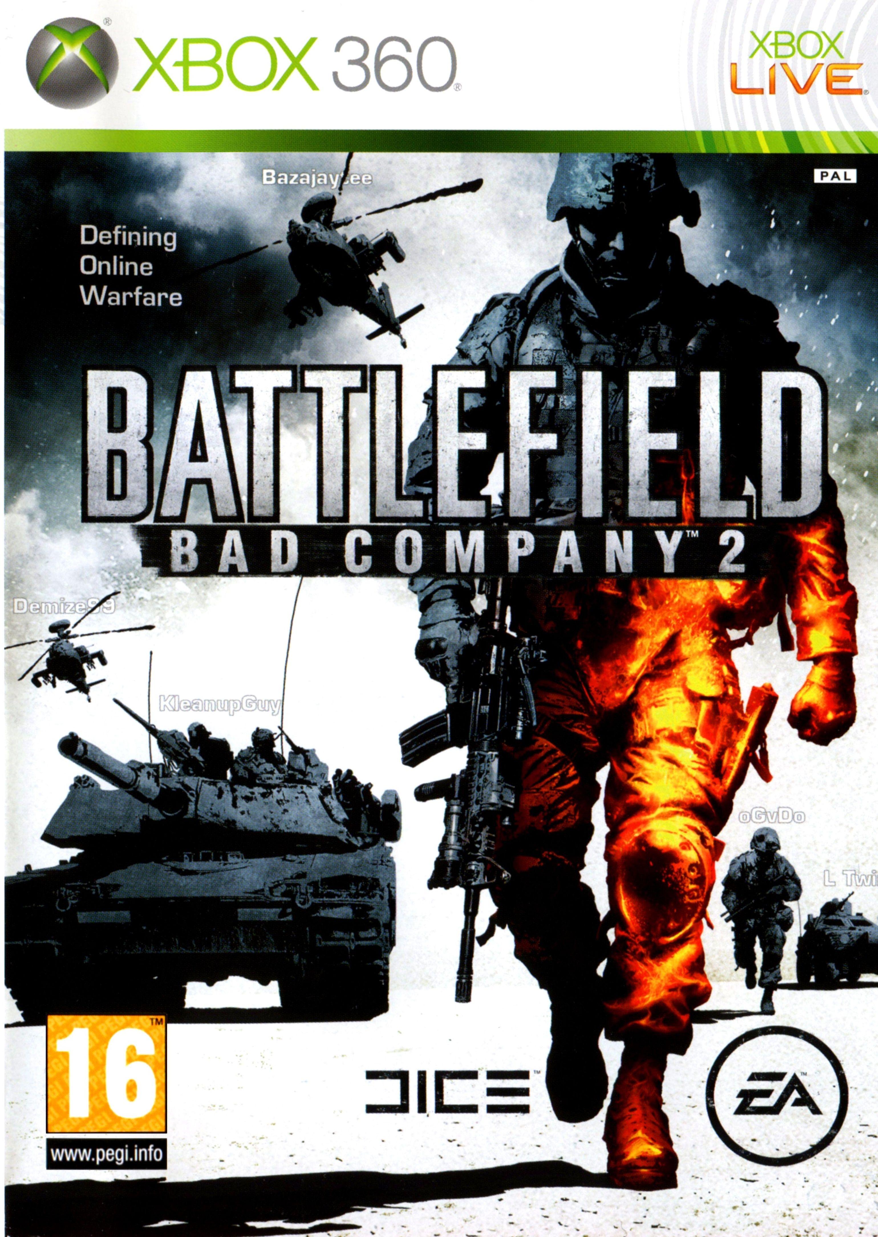 Pin By Aaron Viles On Xbox Battlefield Bad Company 2