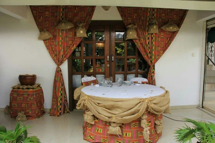 table des mari s mariage africain pinterest africans traditional weddings and wedding. Black Bedroom Furniture Sets. Home Design Ideas