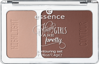 happy girls are pretty - contouring set 01 happiness is … a way of life - essence cosmetics