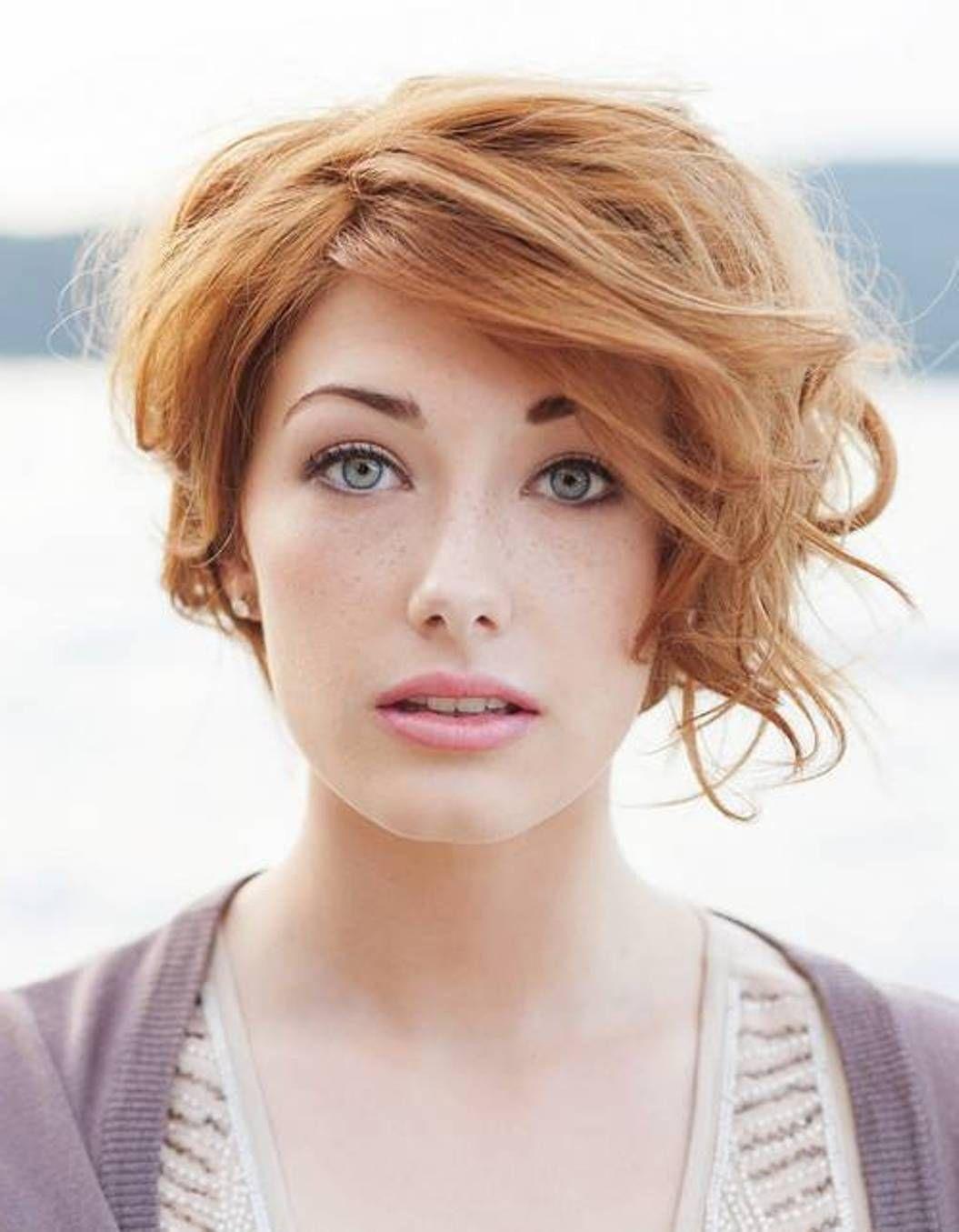 Short Side Swept Hairstyles For Women