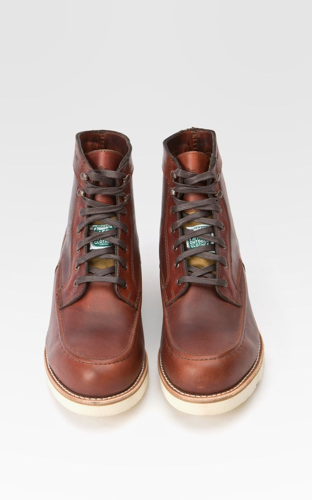 31a569f96bc Cultizm.com - Wolverine 1000 Mile Boot Emerson Boot Rust Wolverine ...