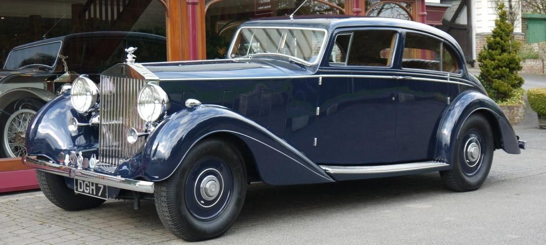 RollsRoyce Phantom III P & A Wood 1936 Sports Saloon