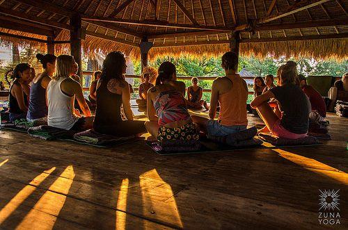 zuna yoga, bali | teacher training