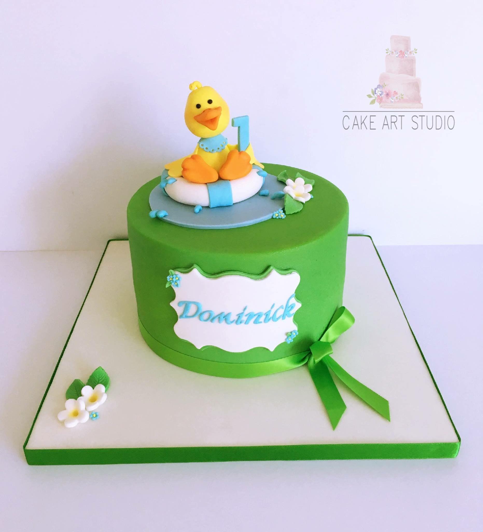 Duck cake Duck cake, Cake art, Cake