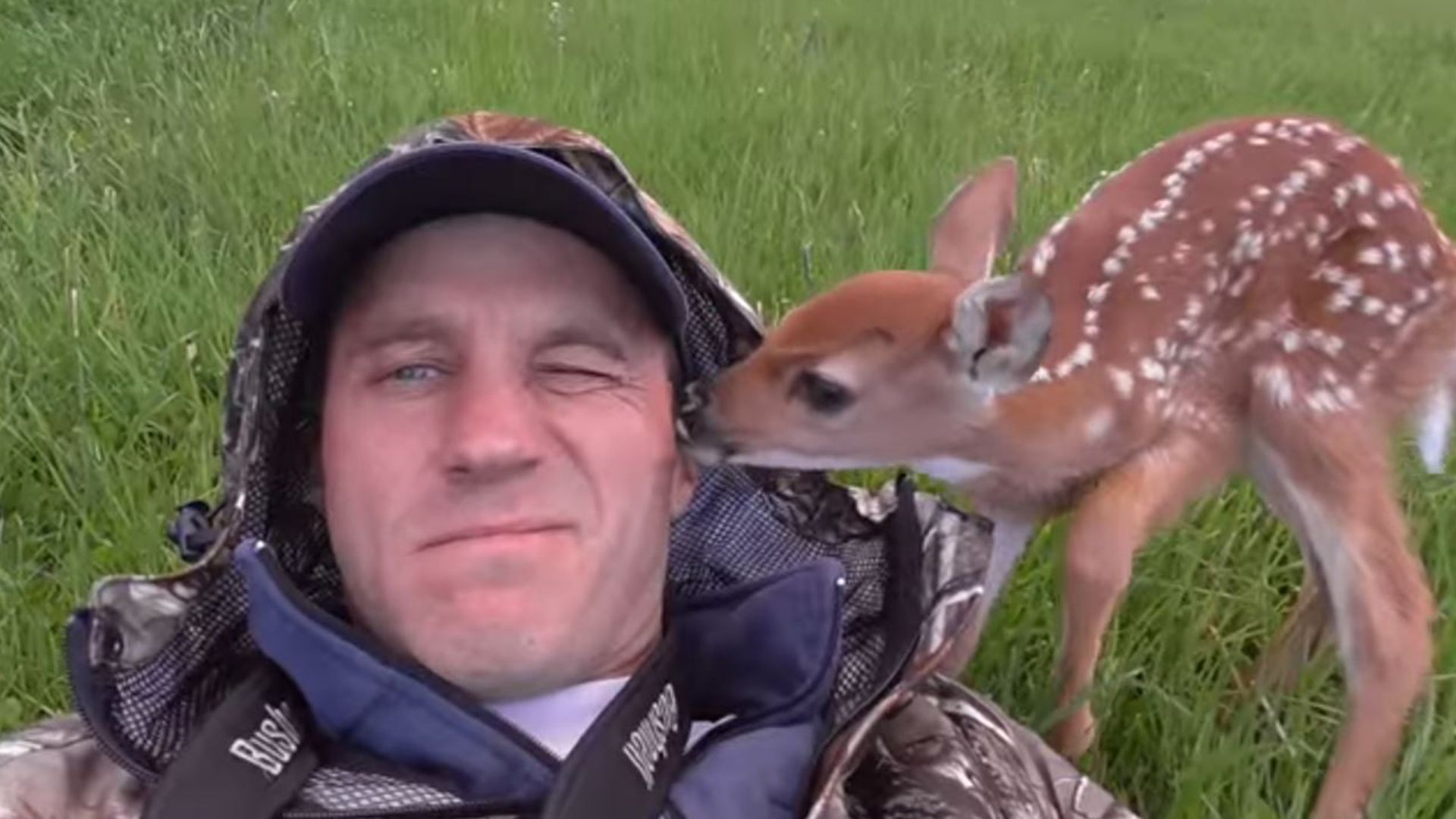 Aw Watch The Sweet Rescue And Release Of Abandoned Baby Deer Baby Deer Baby Animals Deer