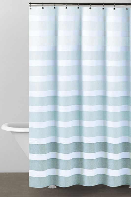 Dkny Highline Stripe Shower Curtain Donnakaranhome Com Striped