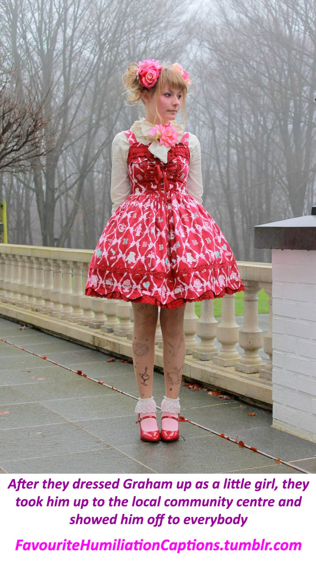 Frilly Sissy Tumblr with regard to http://favouritehumiliationcaptions.tumblr/post/130934683917
