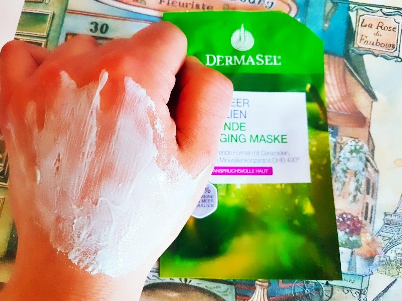 Dermasel Glättende Anti-Aging Maske