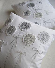 Resultado de imagen para almohadones tejidos al crochet CON