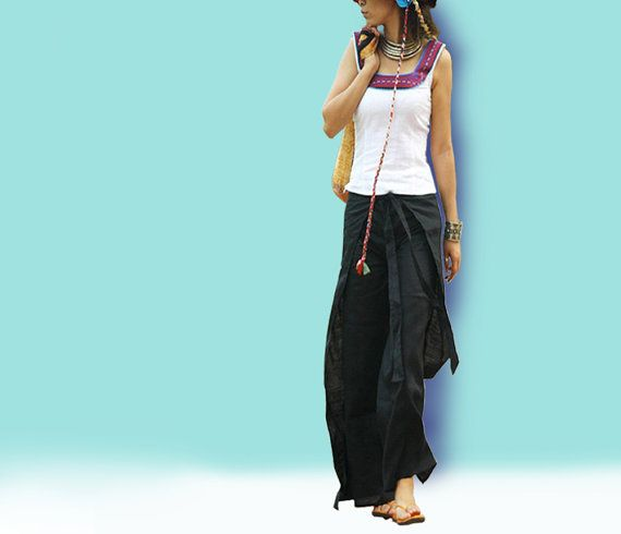 A perfect Indian  skirt pants K1001 by idea2lifestyle on Etsy, $37.00