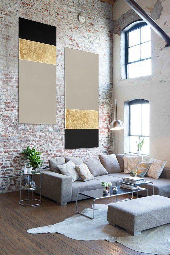 Salon / peinture abstraite