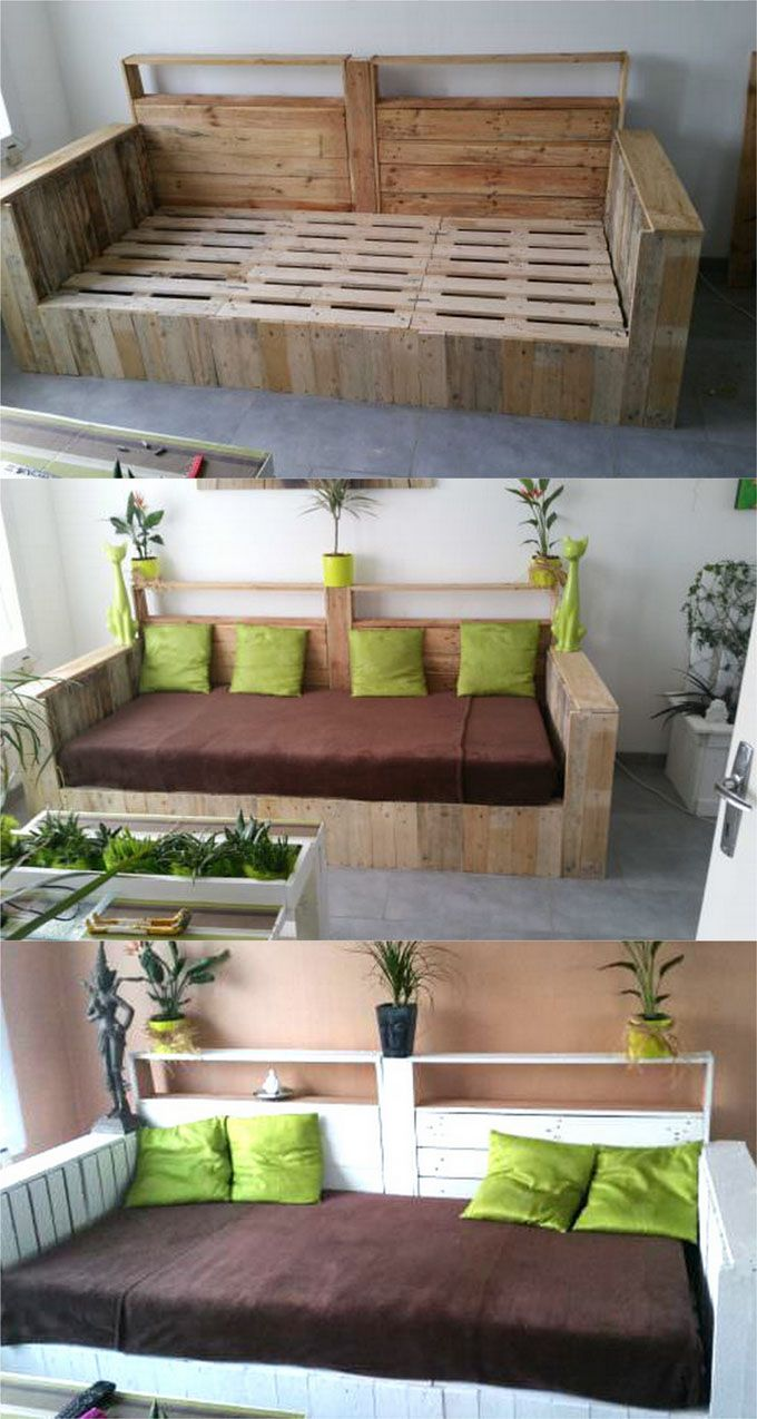 Sofa Rosa Usado 12 Easy Pallet Sofas And Coffee Tables To Diy In One Afternoon