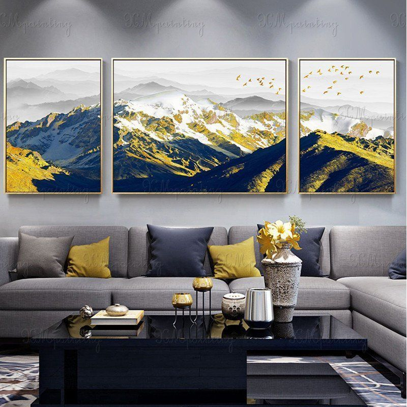 27 Gorgoeus Canvas Wall Art Decor Ideas For Your Living Room