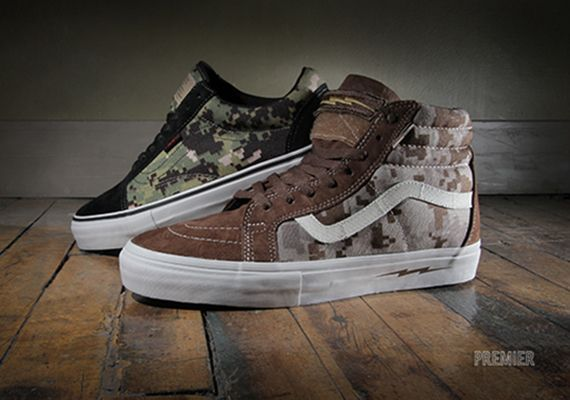 "DEFCON x Vans Syndicate ""Digi Camo Pack"" - Available - SneakerNews.com"