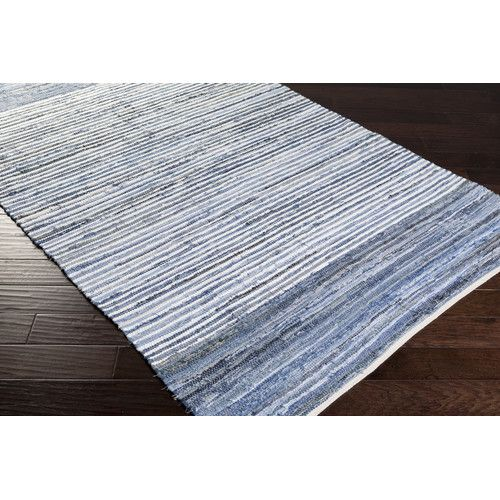 Found it at Wayfair - Denim Sky Blue Area Rug