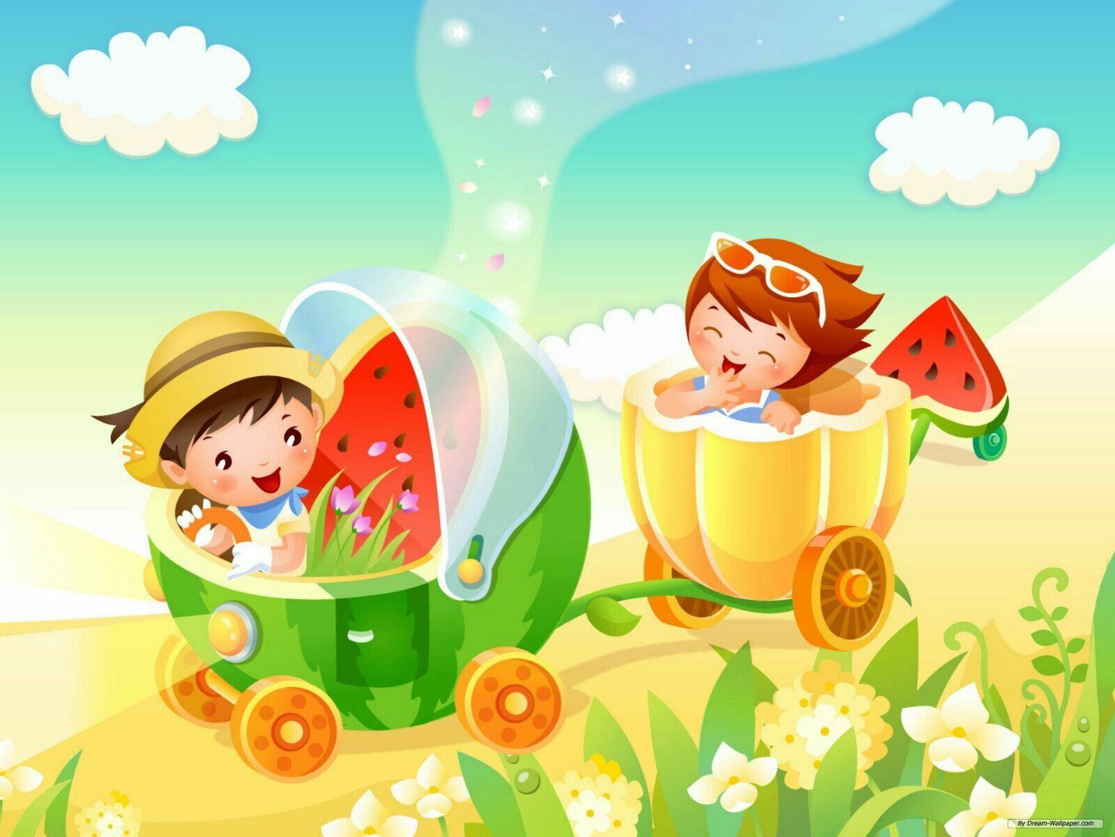 Imágenes para portadas Laminas infantiles, Fondos de