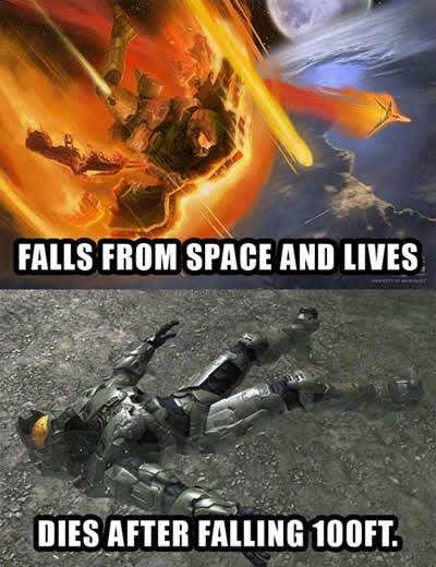 Video Game Logic Halo Funny Video Game Logic Funny Games