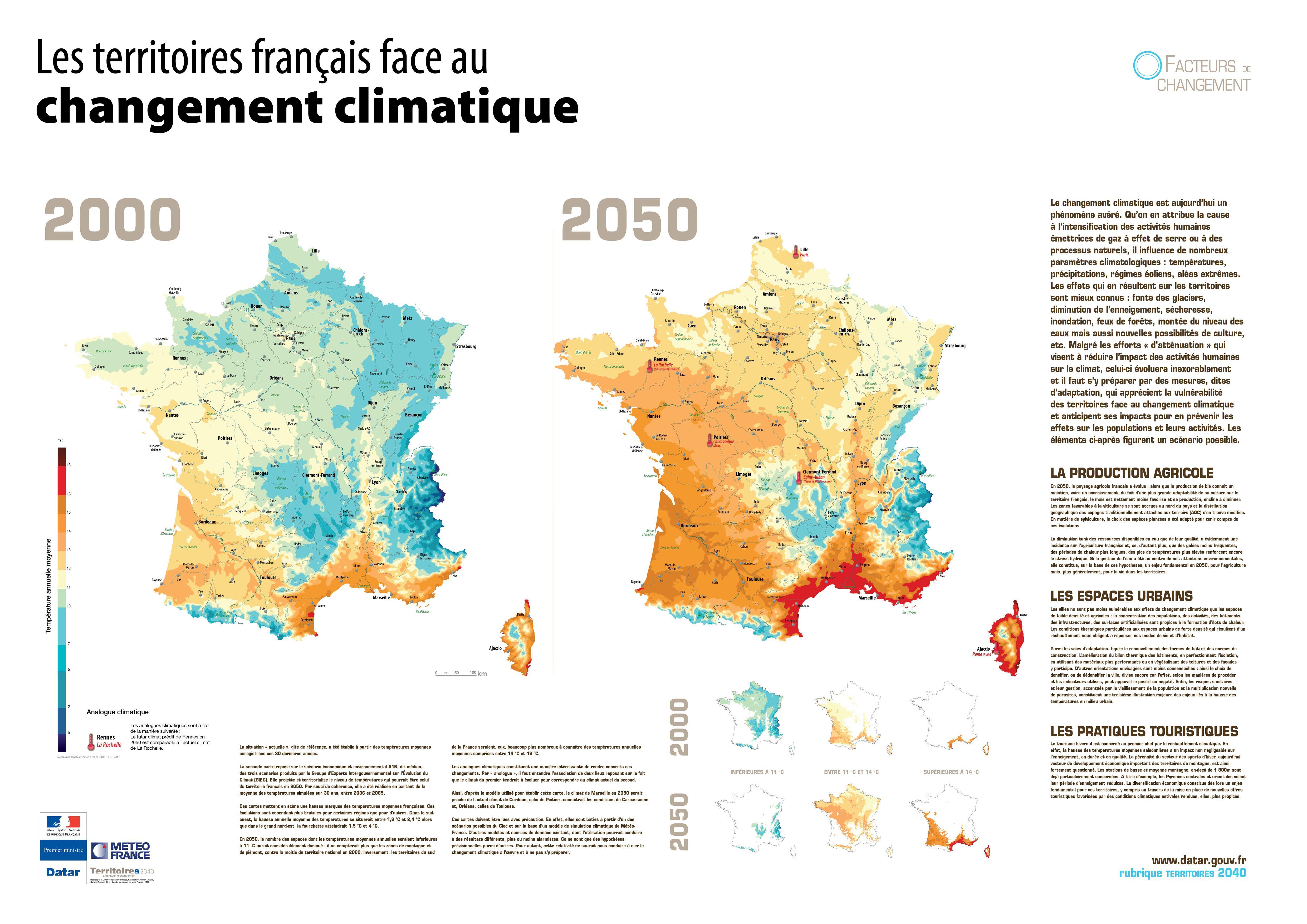 Territoires 2040 - Les territoires face au changement climatique