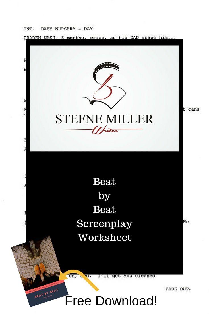 Predownload: Screenwriting Beat By Beat Plus Free Screenwriting Template Screenwriting Writing Writing Resources [ 1102 x 735 Pixel ]