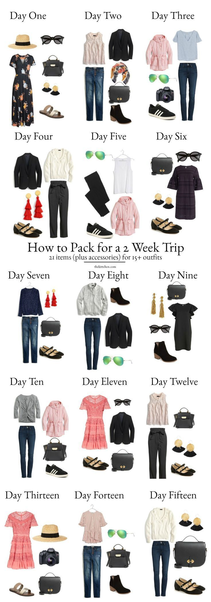 A Complete Europe Packing List - What You Need for 2 Weeks in Europe | europe
