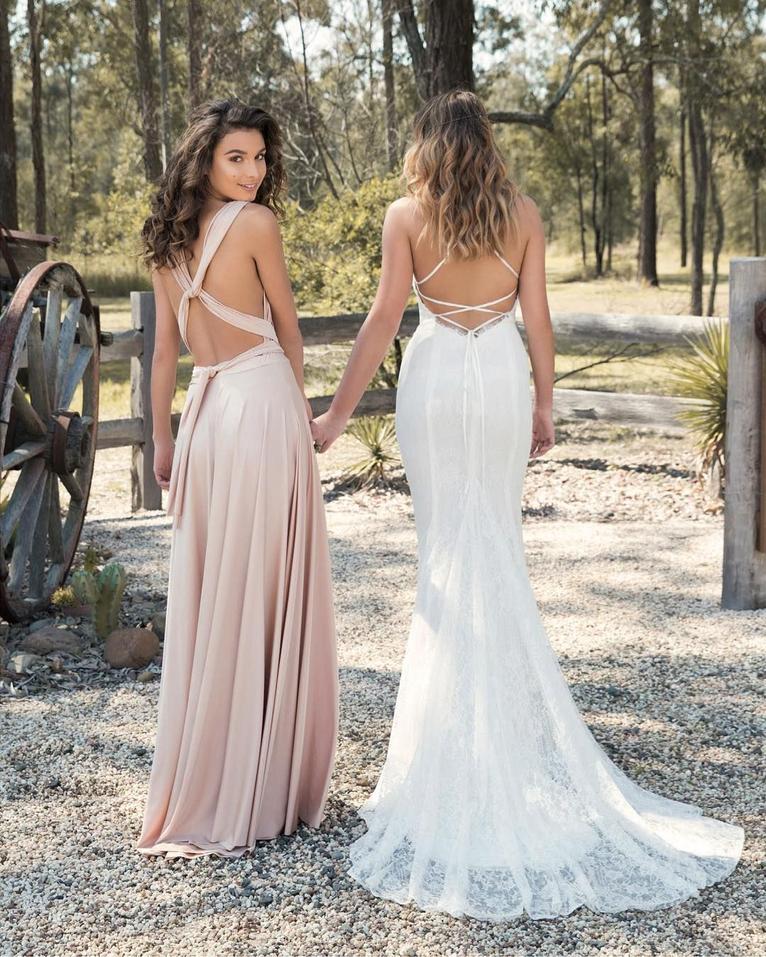 Pink multiway bridesmaid dress  The perfect bridal gown and bridesmaid dress by GBN The Signature