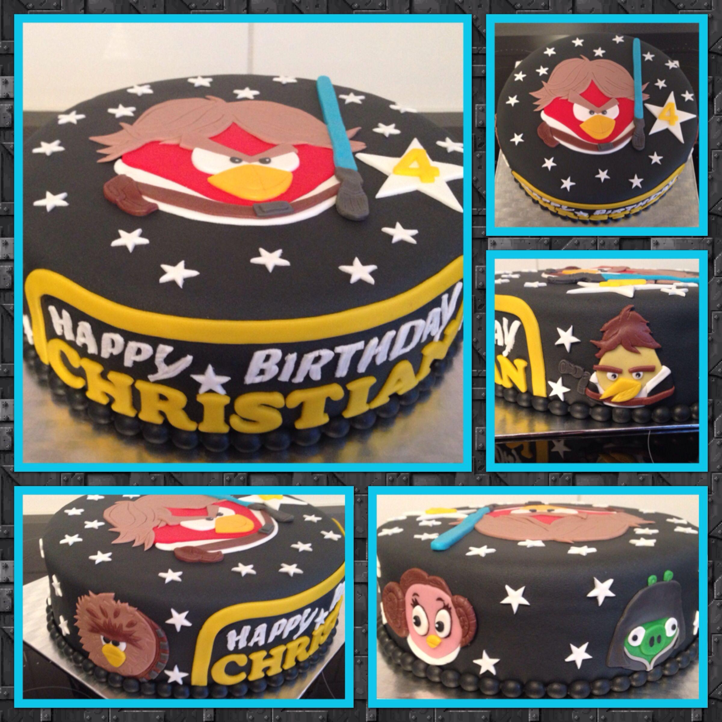 Angry Birds Starwars Cake Cake