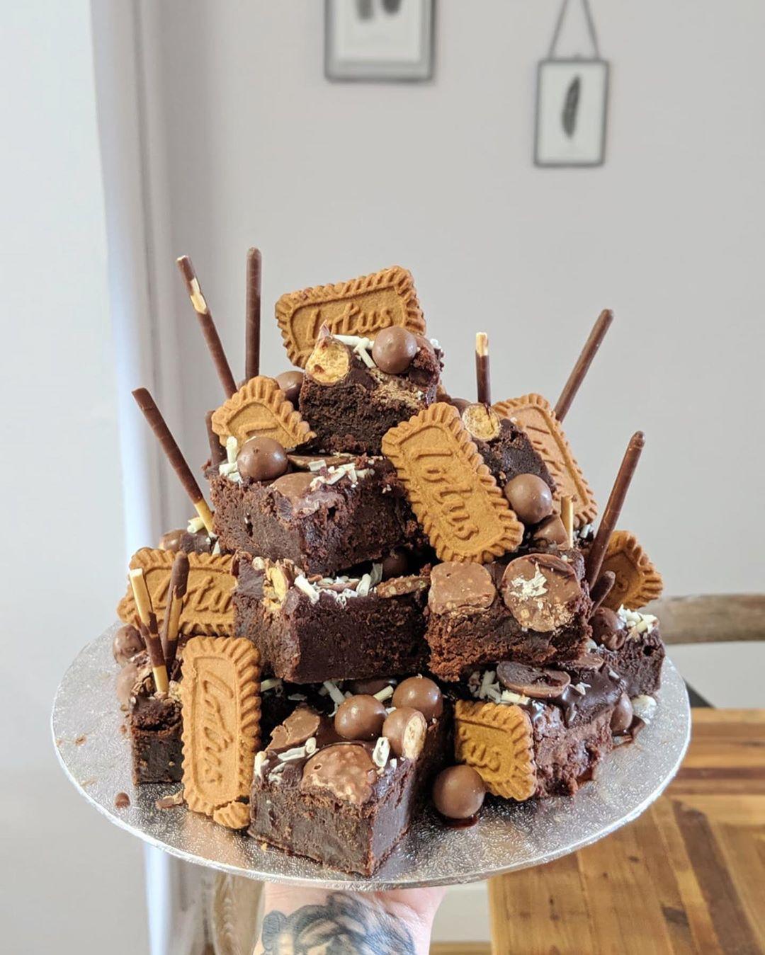43+ Brownie birthday cake decoration ideas
