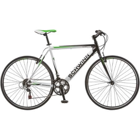 700c Schwinn Varsity 1200 Men S Road Bike White Black Green Road Bikes Men Schwinn Road Bike