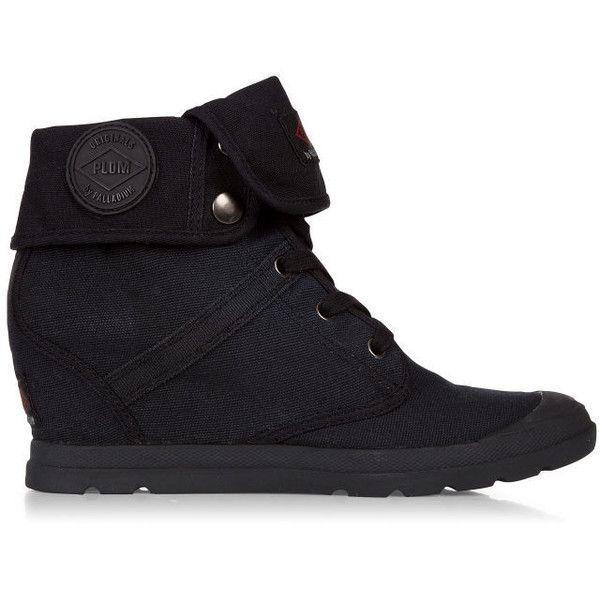 36d776b31e8 Palladium Women's Ecuador CVS Wedge Boot (60 AUD) ❤ liked on ...