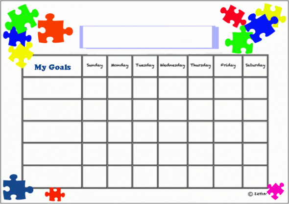 Free Printable Behavior Charts Reward And Visual Cues To Help With Autism