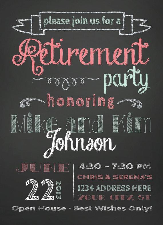 5d1a415ce7 Retirement Party Invitation
