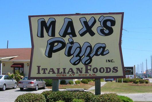 Max S Pizza Surf City Topsail Island Surf City Nc Surf City