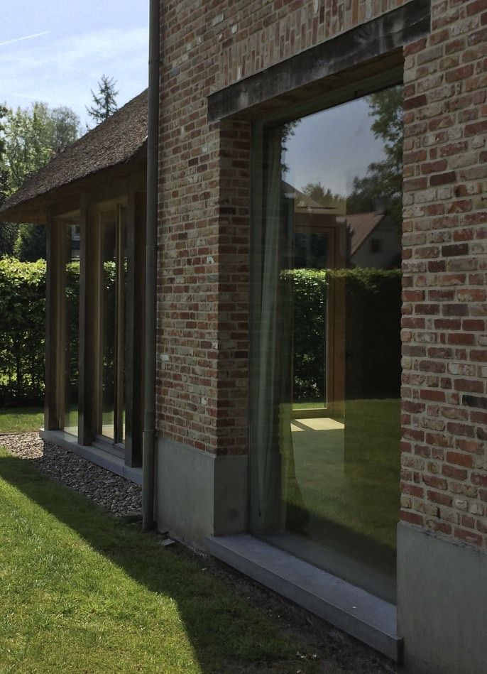 Uitgelezene GLAS home be - raam zonder kozijn | DB Project - Sanctuary MD-71