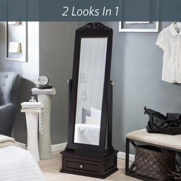 Full Length Mirror Tilts To Adjust To Any Angle Bedroom