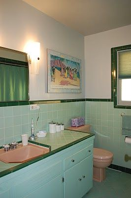 In Praise Of 1950 S Bathrooms Retro Bathrooms Vintage Bathrooms