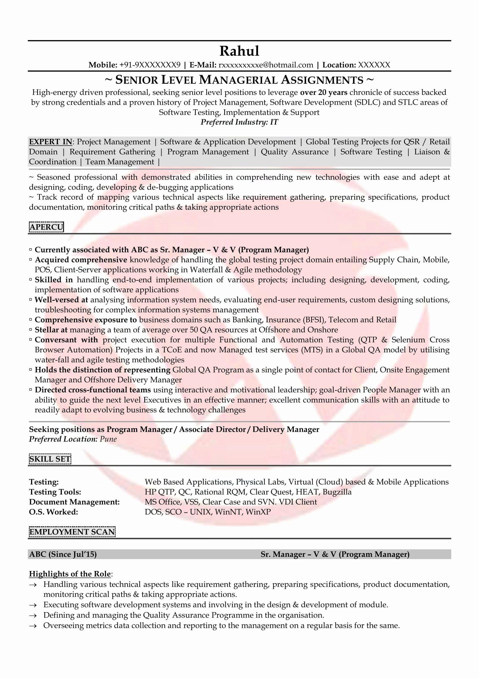 25 Entry Level Qa Resume In 2020