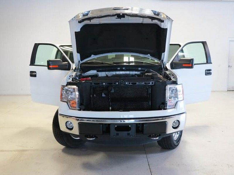 2012 Ford F-150 truck doors open hood up front view & 2012 Ford F-150 truck doors open hood up front view | Classic Ford ...