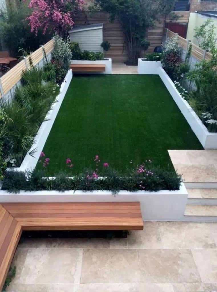48 Amazing Built In Planter Ideas to Upgrade Your Outdoor Space backyardideas gardenideas BuiltInPlanterIdeas   updowny com is part of Small garden design -