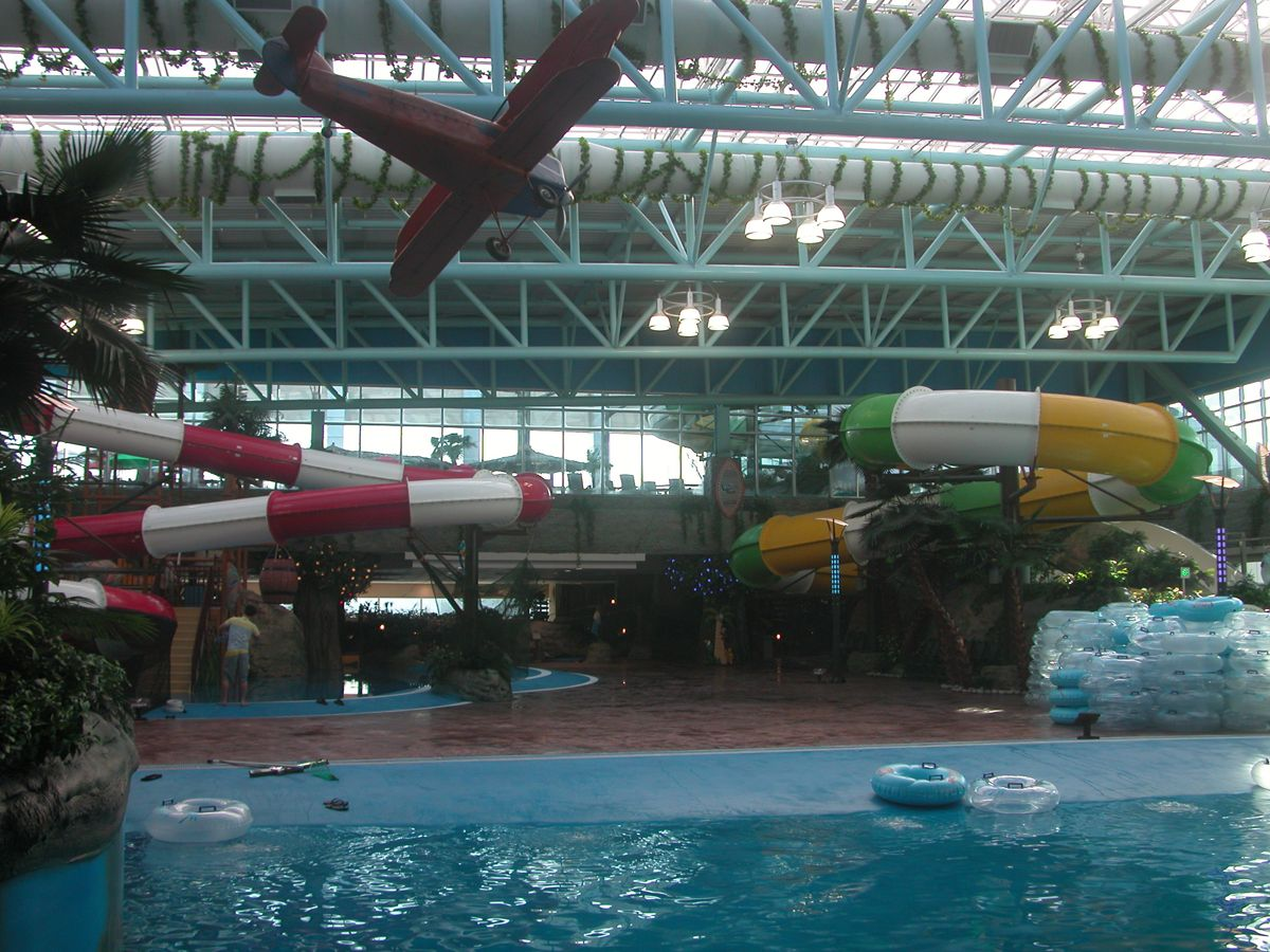 Sopoong Buchon Korea Indoor Waterpark Outdoor Decor Water Park