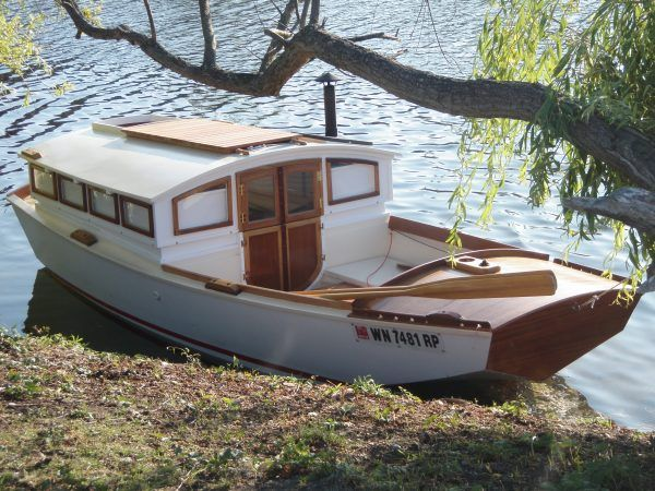 retirement houseboat or floating home page 9 boat design forums - Small Houseboat