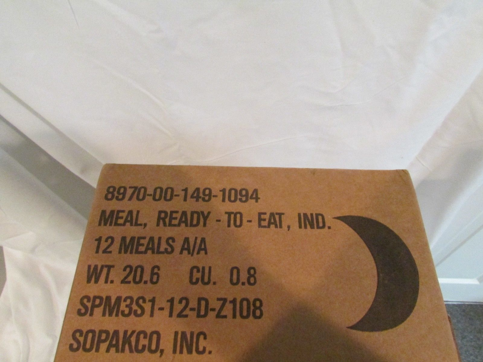 MREs and Freeze-Dried Food 62118: Mre Case Of 12 Meals Ready To Eat Case A Sealed Test Date 2018 Genuine Mil Spec -> BUY IT NOW ONLY: $75.99 on eBay!