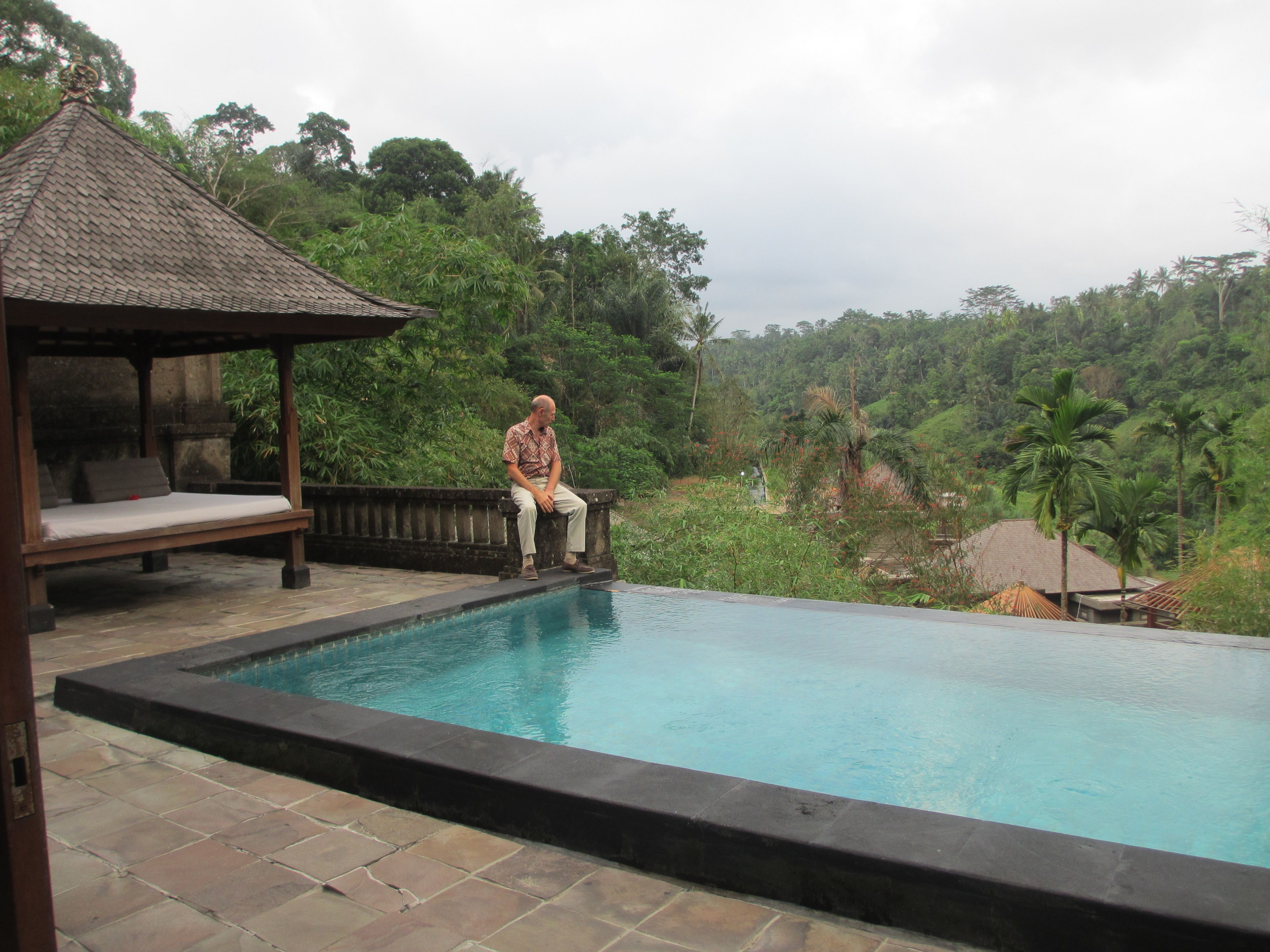 Our private infinity pool villa at the payogan villa for Villas with infinity pools
