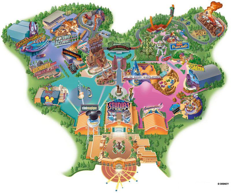 Walt Disney Studios Disneyland Paris Rejseboger