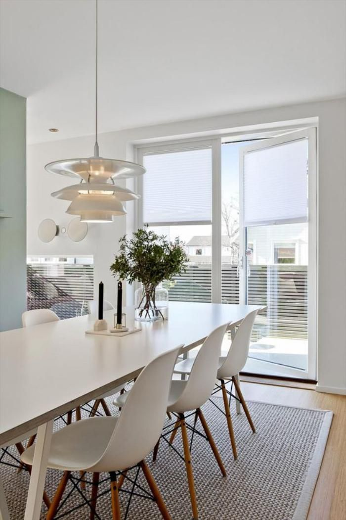 La salle à manger scandinave en 67 photos   Table design ...