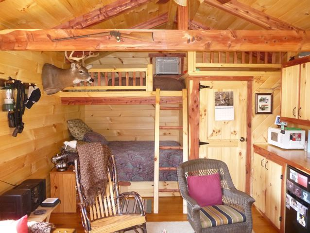 Pictures of Cabins Interior | Trophy Amish Cabins, LLC ...