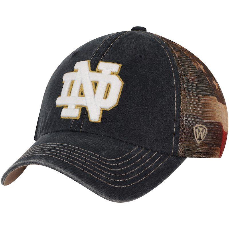 Notre Dame Electric Slide Snapback Hat