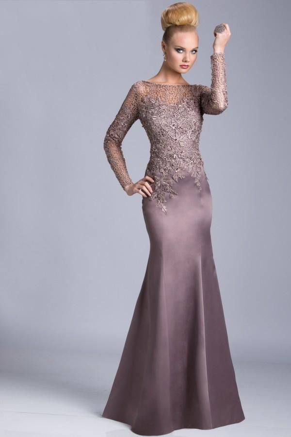 2015 Arabic Mother Of The Bride Dresses By Janique High
