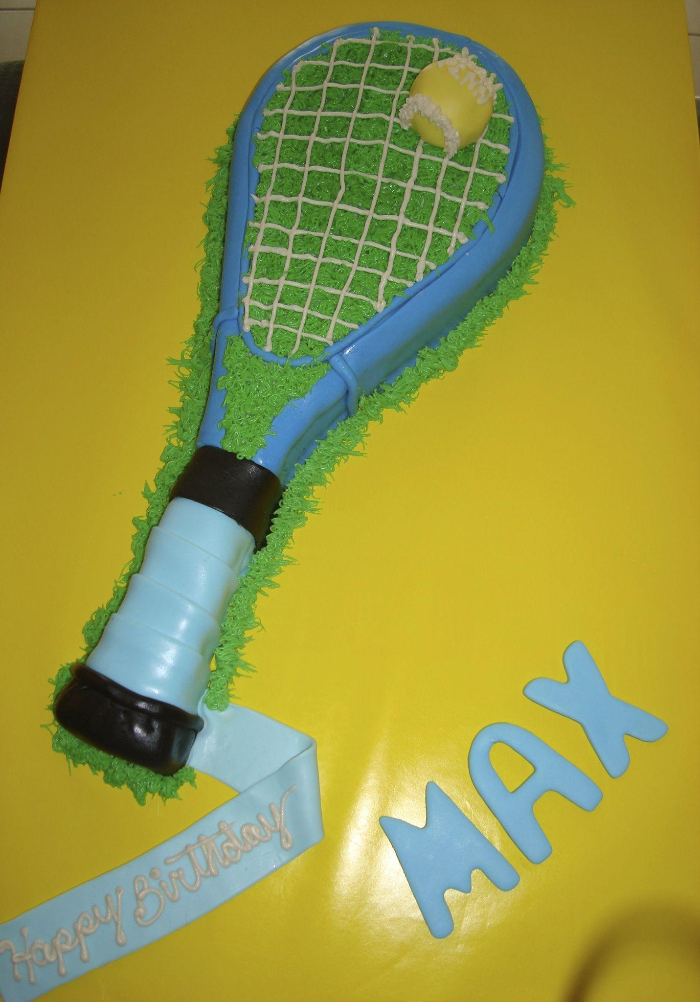 Tennis Racquet Cake Tennis racquet cake, Tennis party