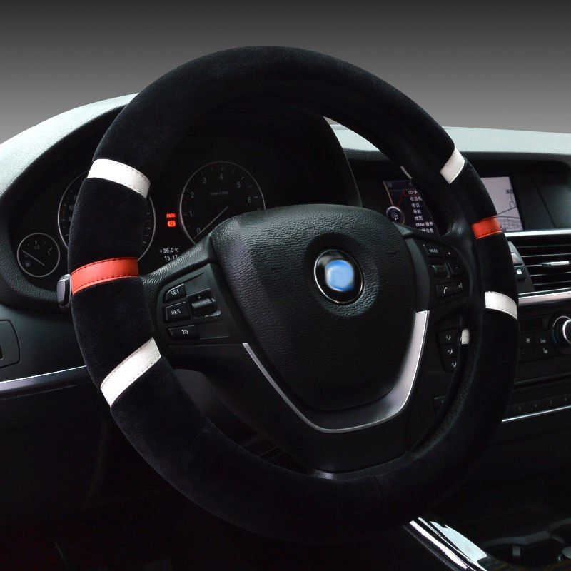 Car Steering Wheel Cover Winter Auto Accessories For Chevrolet